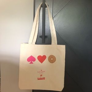 KATE SPADE ♠️ Zabar's Canvas Reusable Tote